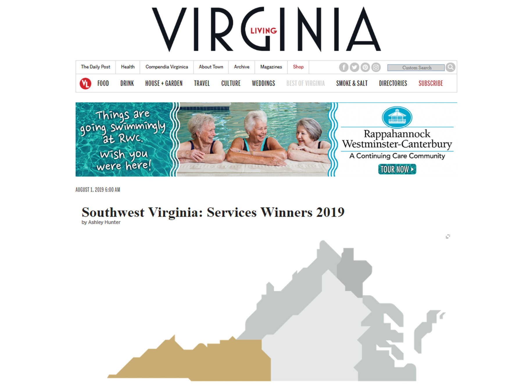 Virginia Living Services 2019