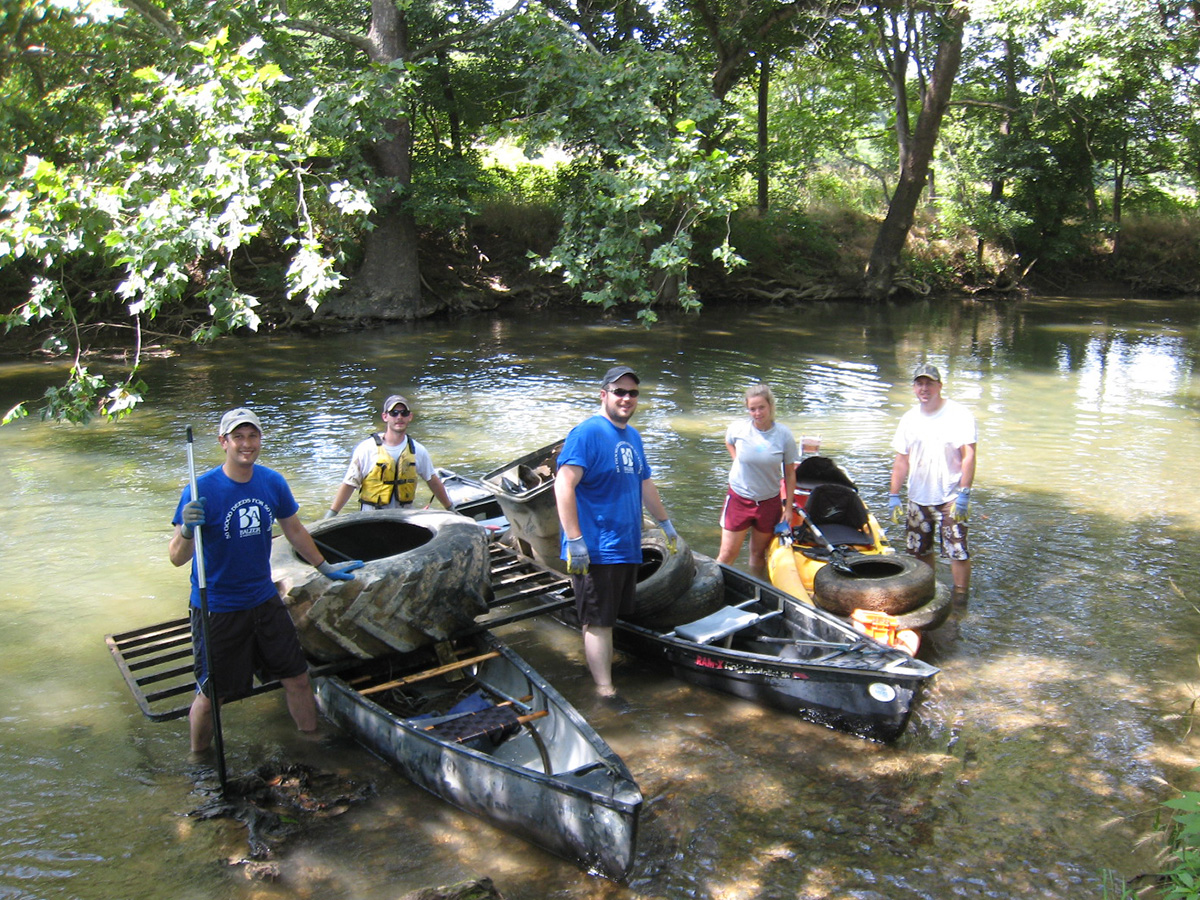 50 for 50 - Staunton - Friends of the Middle - River Clean-up (2)
