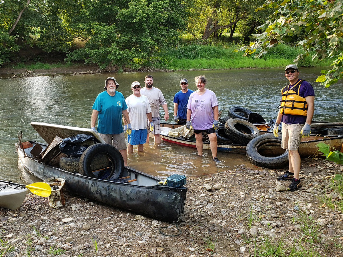 50 for 50 - Staunton - Friends of the Middle - River Clean-up