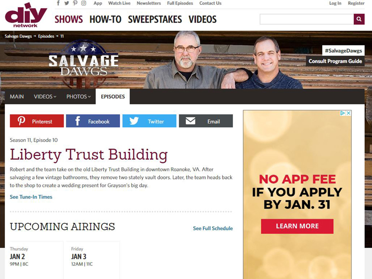 Salvage Dawgs Liberty Trust