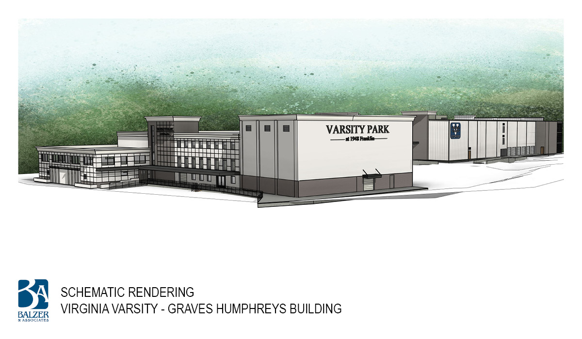 Virginia Varsity - Graves Humphreys Building Exterior 1