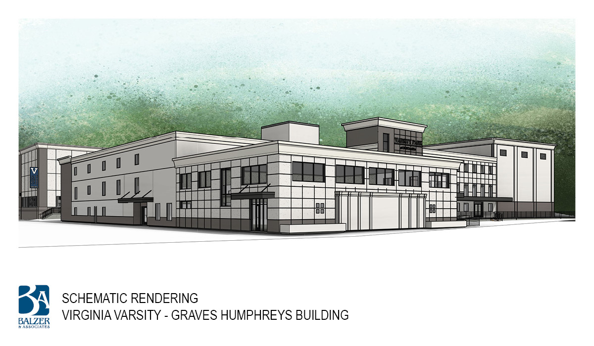 Virginia Varsity - Graves Humphreys Building Exterior 2