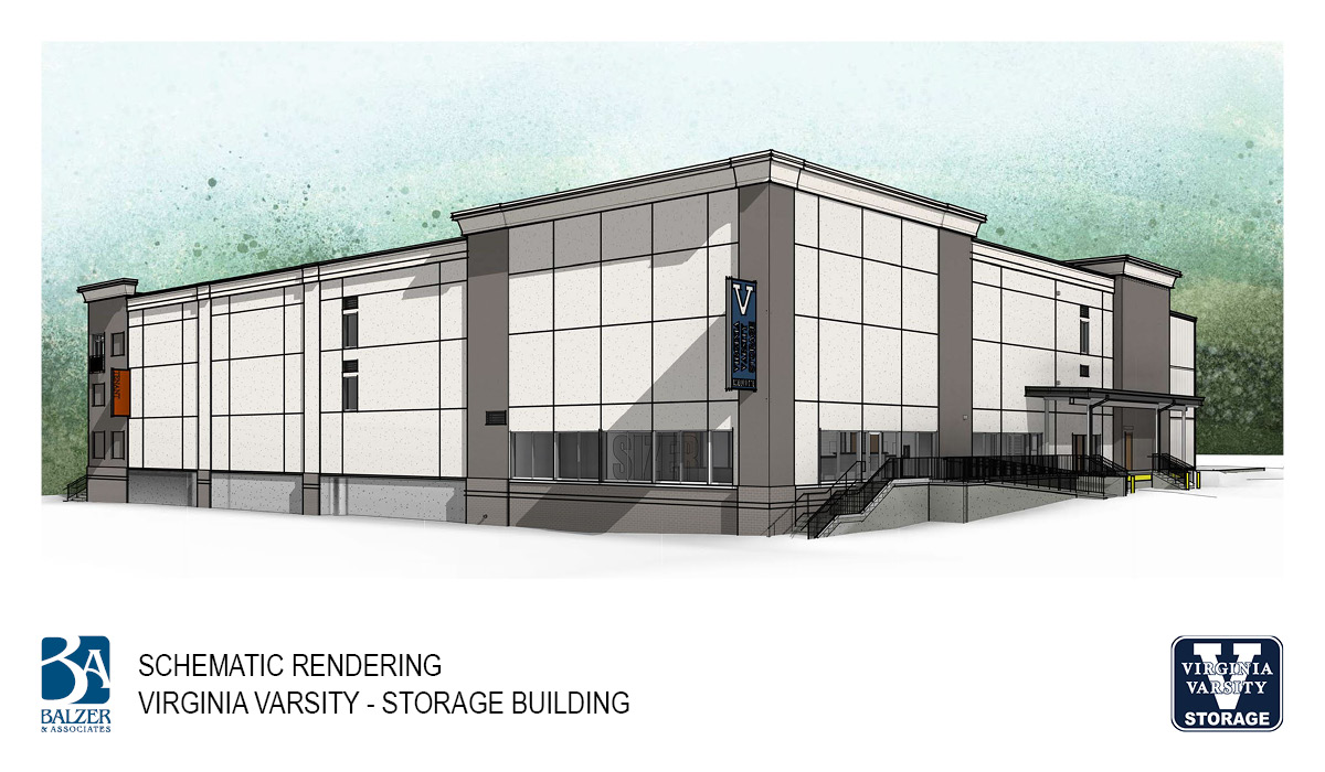 Virginia Varsity - Storage Building Exterior 1