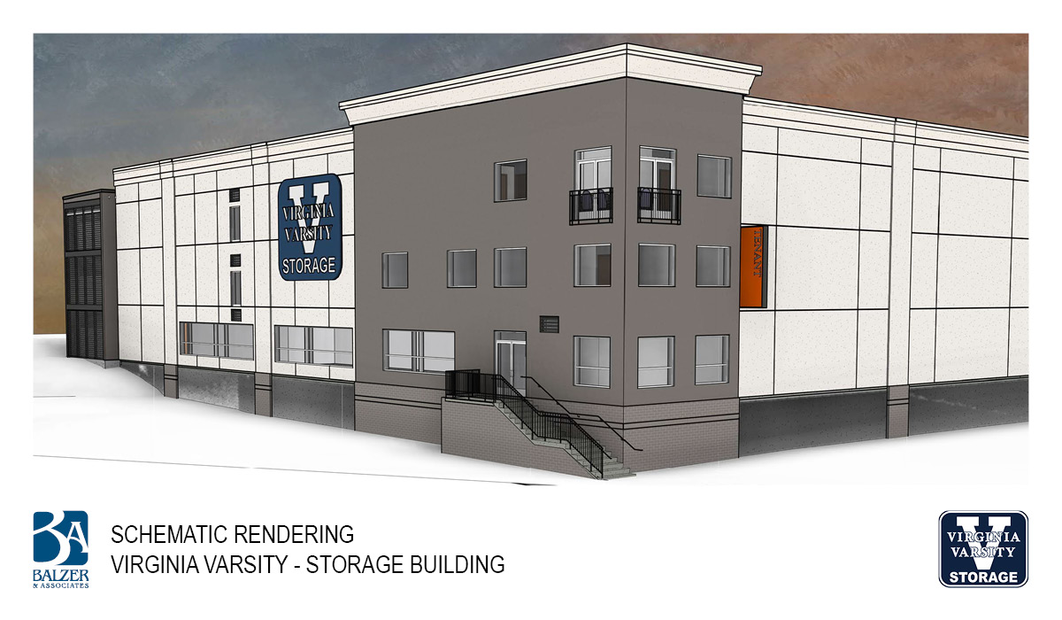 Virginia Varsity - Storage Building Exterior 2