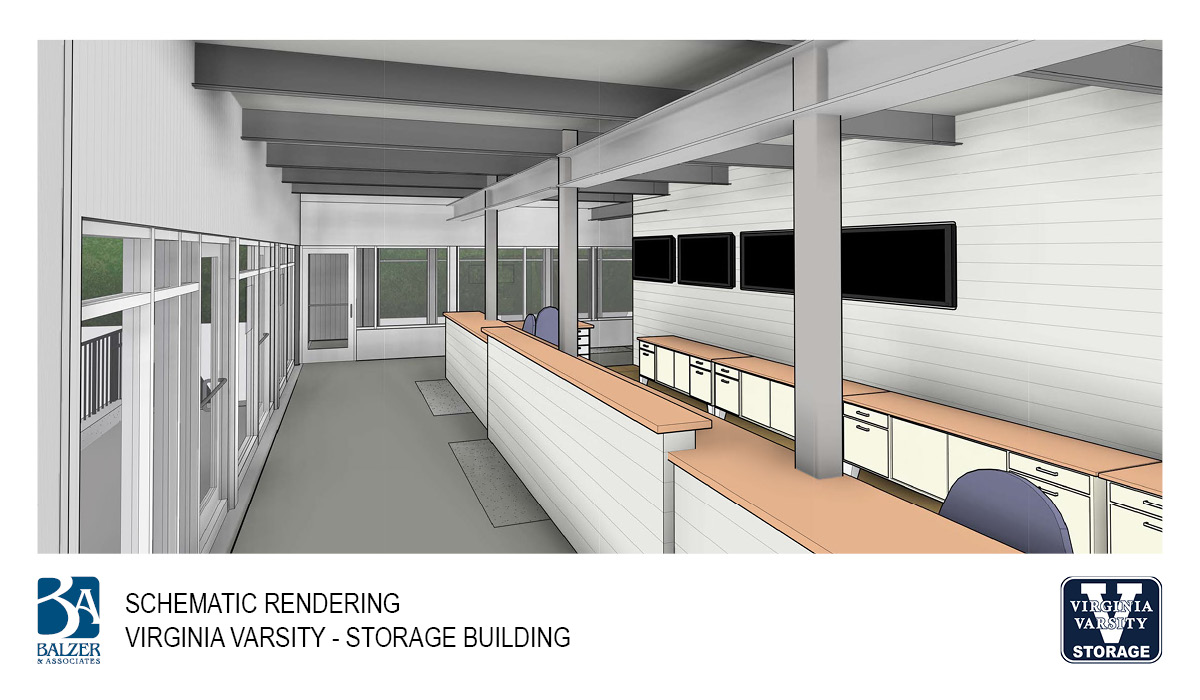 Virginia Varsity - Storage Building Interior 1